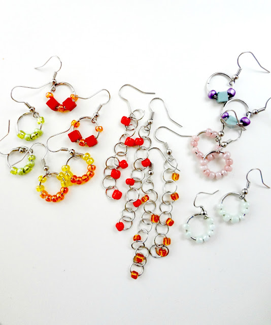 Easy Diy Beaded Earrings