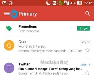 Melihat Pesan Terkirim Di Gmail Lewat HP