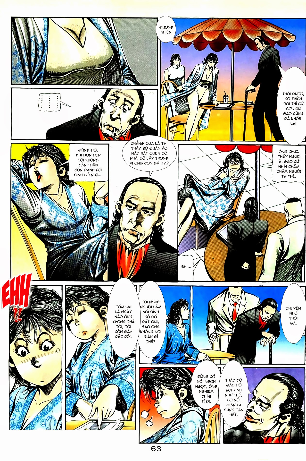 Người Trong Giang Hồ chapter 86: săn báo trang 6