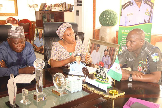 Courtesy visit to the IGP by SERVICOM. 13th December, 2016.