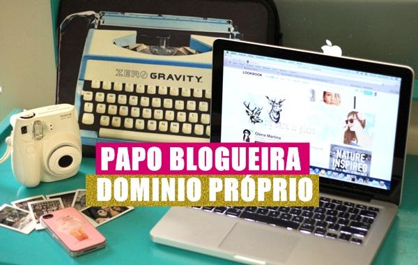 Papo blogueira, dominio proprio, uma garota chamada sam