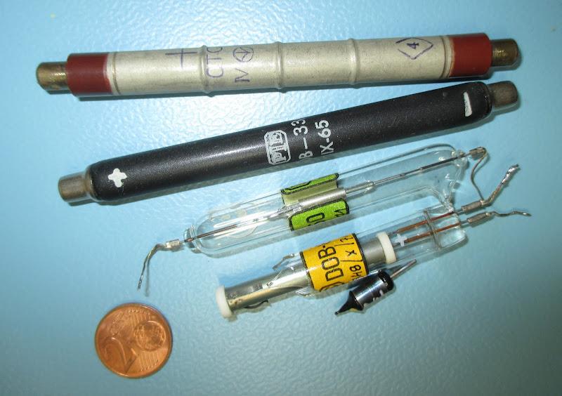 popular soviet Geiger–Müller tubes