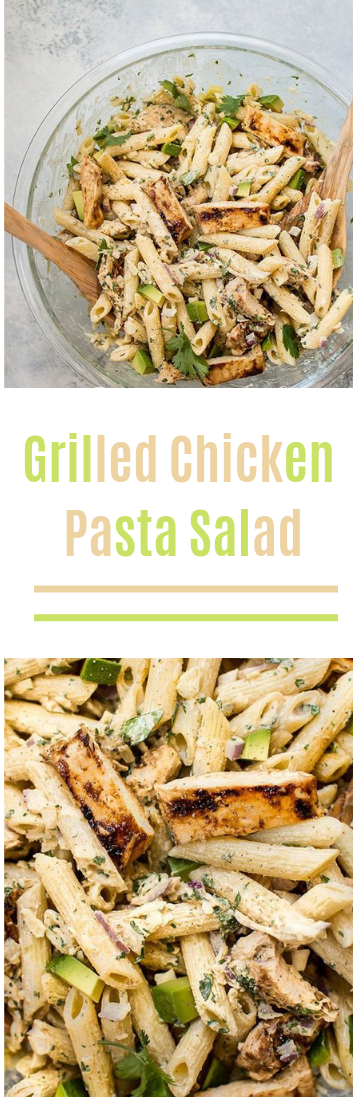 Flame broiled Chicken Pasta Salad #salad#food#pasta