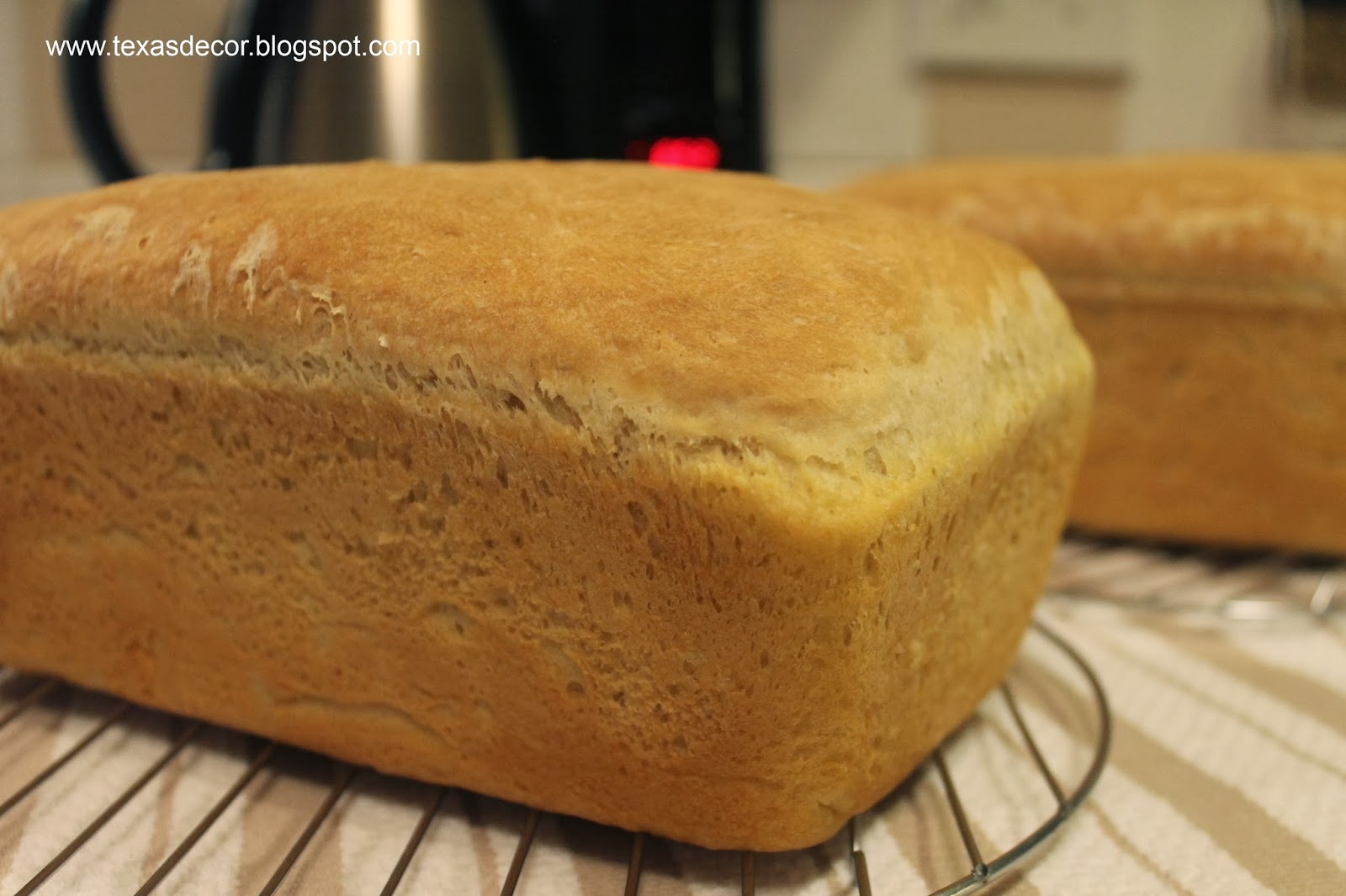 homemade bread ready in two hours