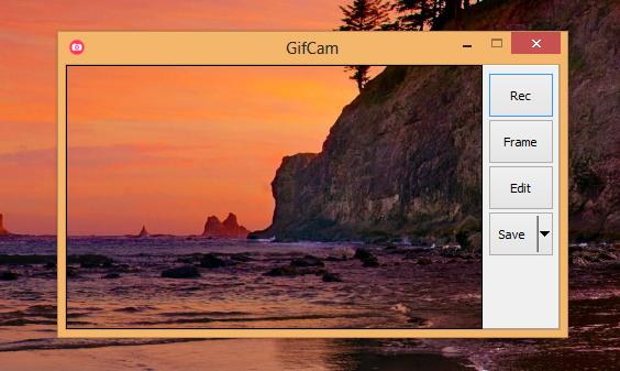 برنامج GifCam