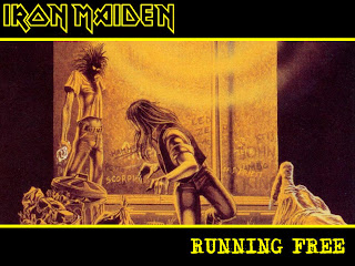 Iron Maiden Running Wild