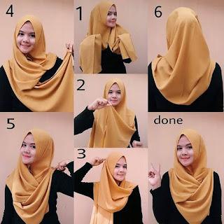 Tutorial Hijab Syarie Hijab Jilbab Tutorial Hijab Untuk Wajah Bulat Gemuk Lebar Terbaru 2017tutorial