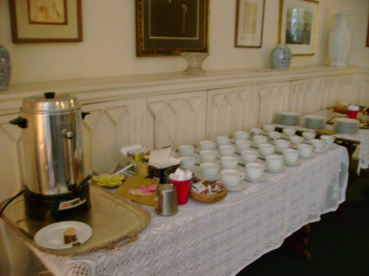 Cups of Tea/Pym Conference on Line