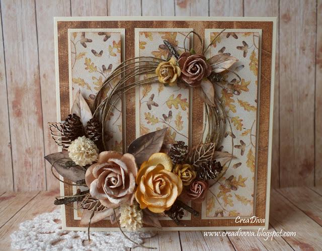 Jesienne róże / Autumn Roses