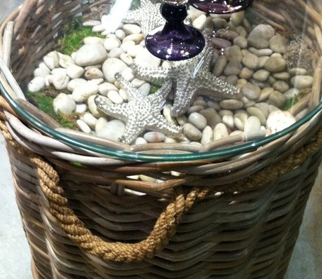 diy basket curio able
