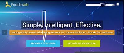 PropellerAds là gì, hướng dẫn đăng ký mạng quảng cáo PropellerAds thay thế Adsense
