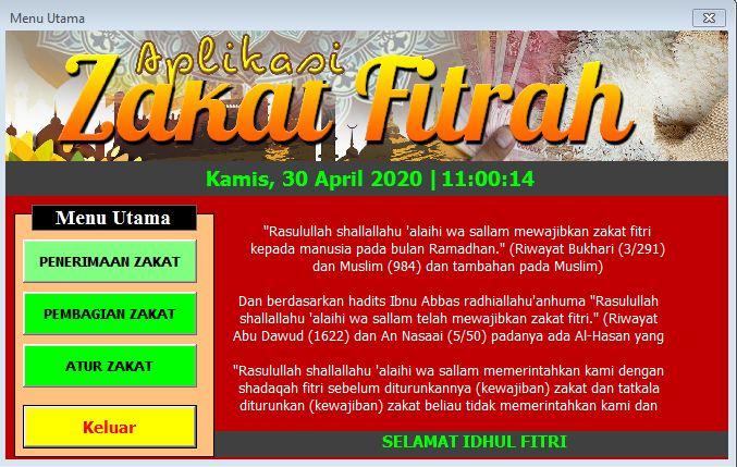 Aplikasi Zakat Fitrah Gratis