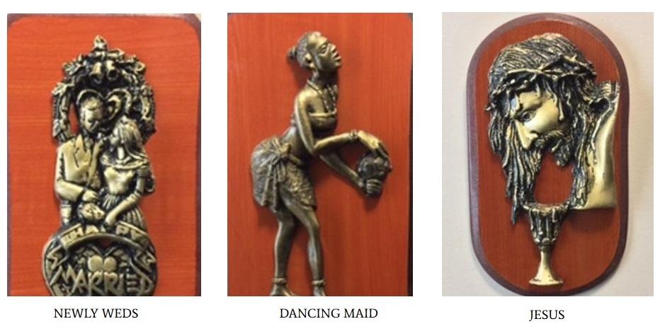 Dancing Maid Art Craft