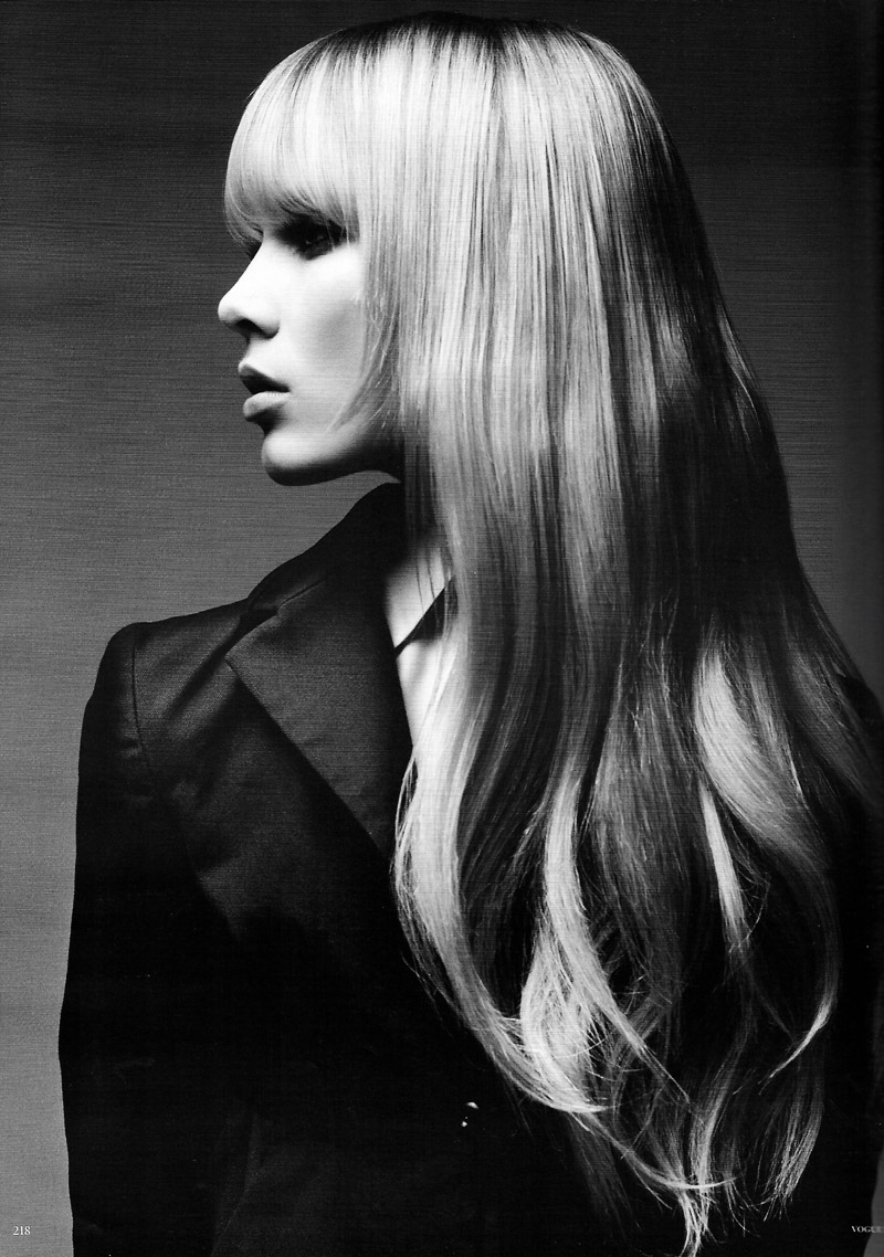 Patrick Demarchelier for Vogue Germany 2010