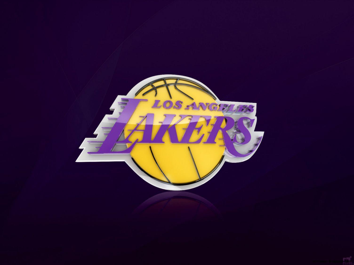 La Lakers Logo Hd Wallpaper