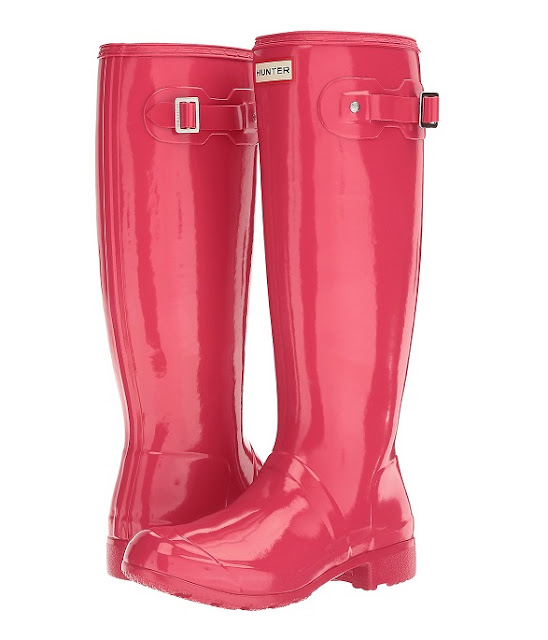 Zappos: 40% off Hunter Original Tour Tall Gloss Boots + Free Shipping!