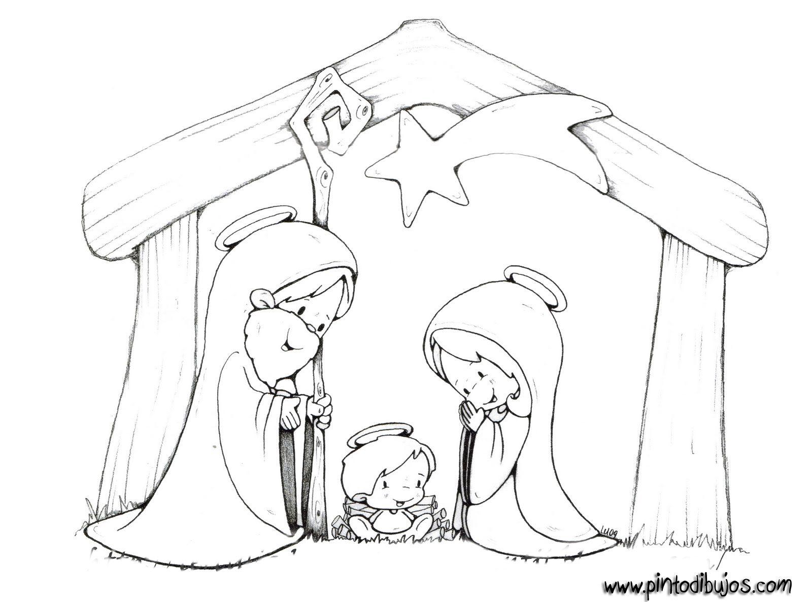 d96690af2ca Belen Navidad Para Colorear - Belen Navidad Para Colorear Az Dibujos ...