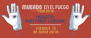 Concierto de MUERDO en Bogotá 2018