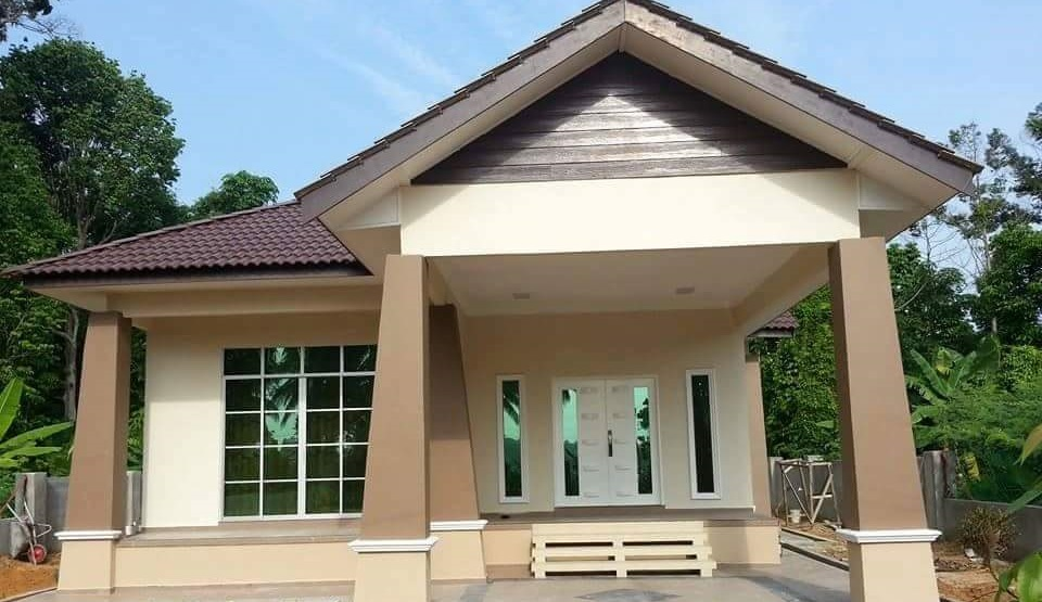 Contoh Model Rumah Terbaik Untuk Dibina Atas Tanah Sendiri