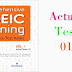 Listening Comprehensive TOEIC Training - Actual Test 01
