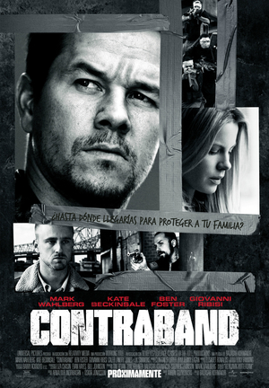 Poster Contraband 2012