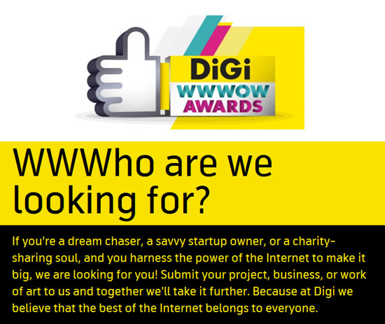 Digi WWWOW Awards 2015