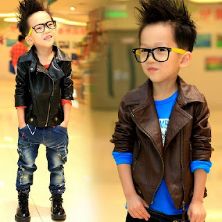 Gambar Child Leather Jacket
