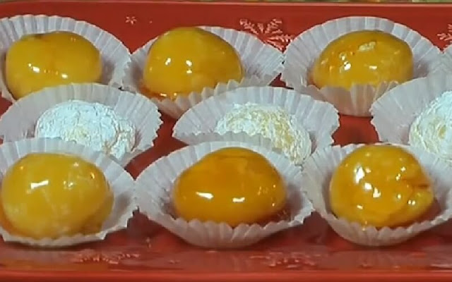 receta yemitas de huevo