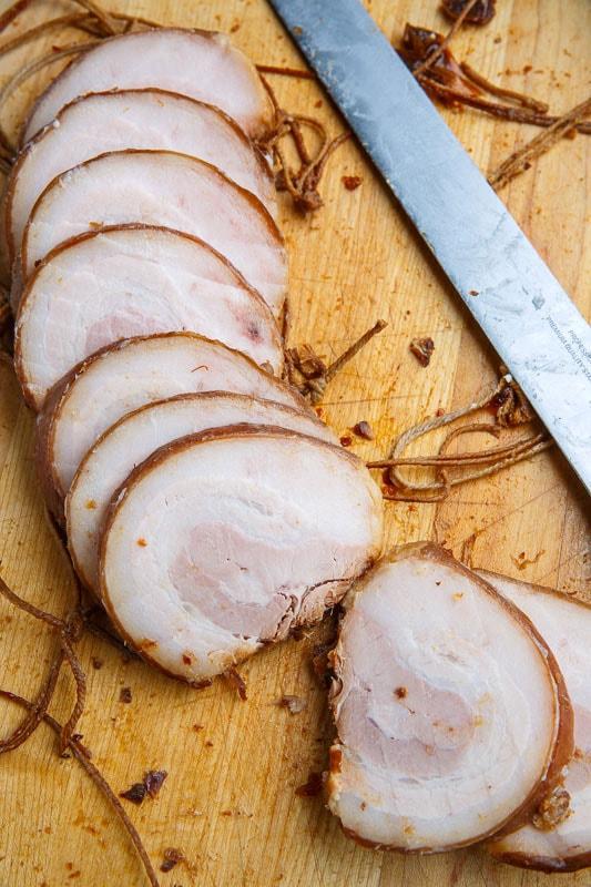 Chashu Pork (Marinated Braised Pork Belly)