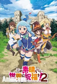 Kono Subarashii Sekai ni Shukufuku wo! SS2 -  2017 Poster