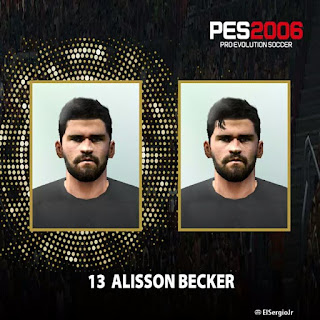 Alisson becker pes 6 face