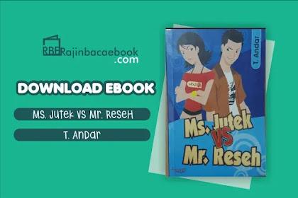 Download Novel Mr Jutek vs Mr Reseh by T Andar Pdf