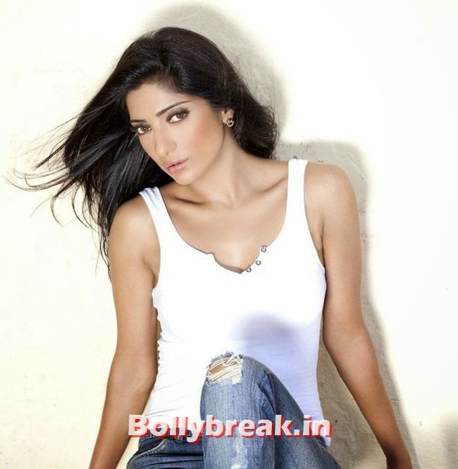 Divyani Singh in white top and ble jeans, Divyani Singh Hot photo Gallery in Western Wear