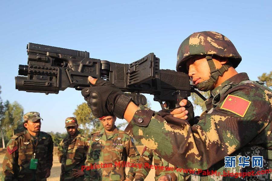 PakChina Special Operation Forces During Joint Military