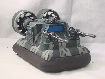 Taurox Hovercraft - Now with more Fans!