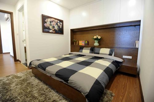 Phòng ngủ tại chung cư FLC Star Tower