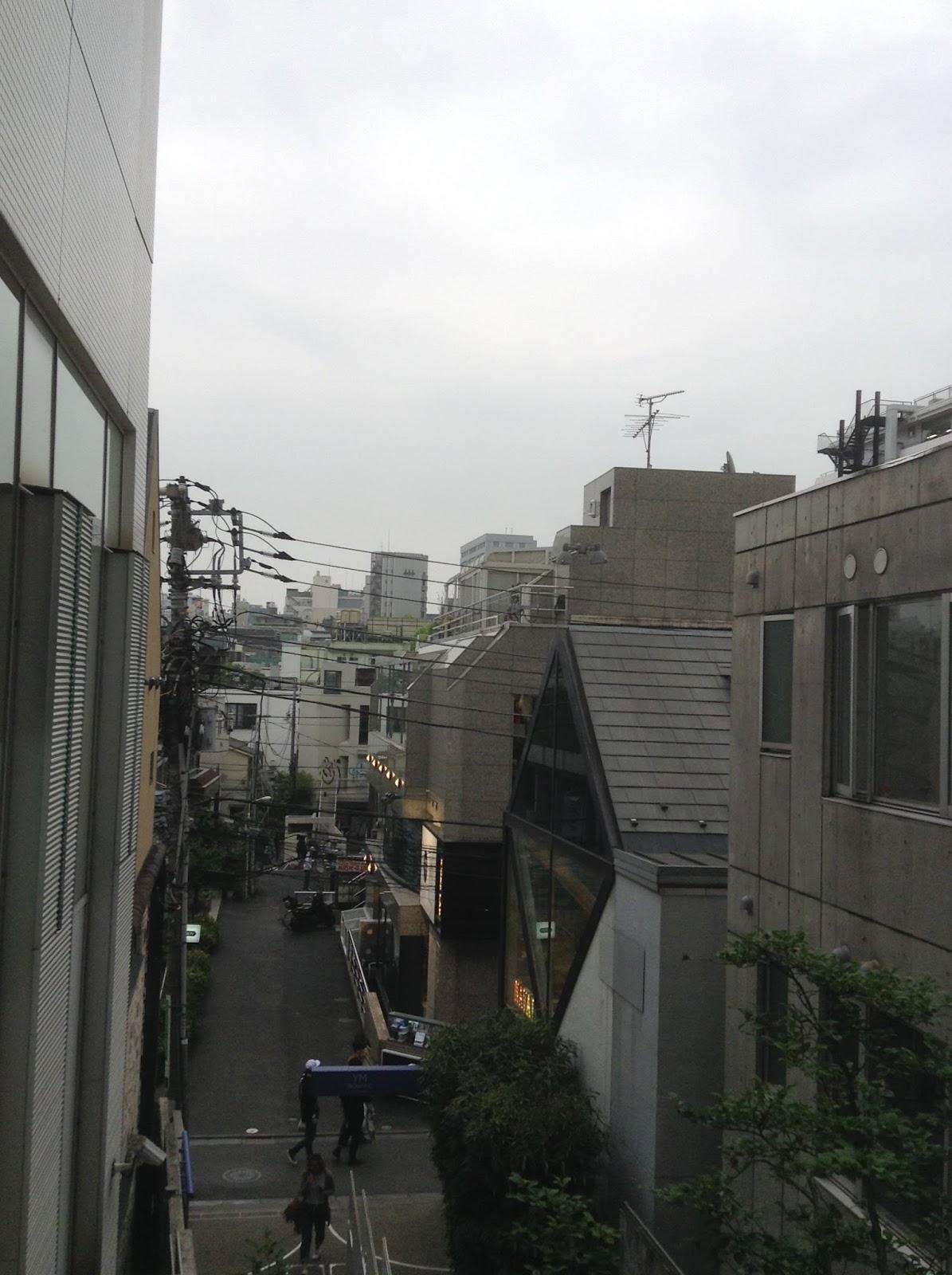 Japanese streets Tokyo