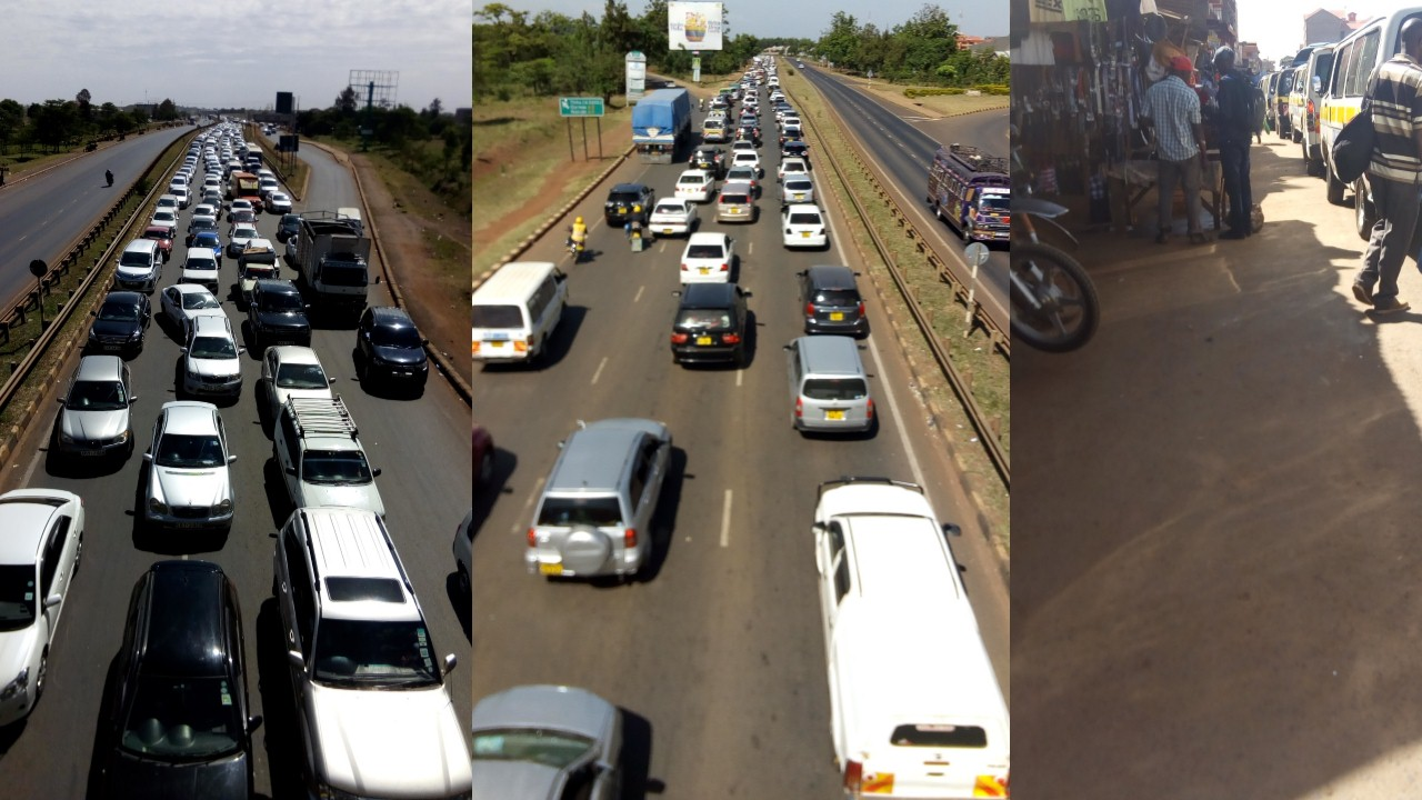 Image result for Driver, tout arrested for robbing commuters along Thika Superhighway