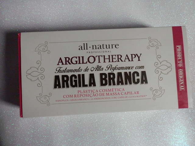 Resenha: Argilotherapy - Máscara de argila da All Nature
