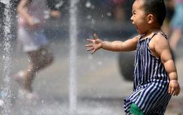 αντιμετώπιση των υψηλών θερμοκρασιών στη Κίνα