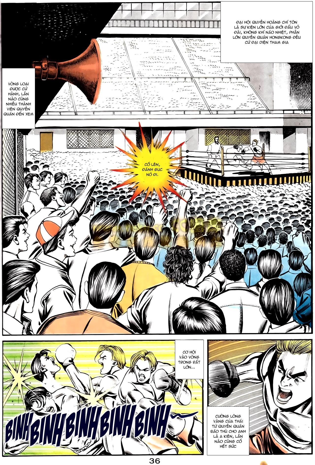 Người Trong Giang Hồ chapter 167: tội sống khó tha trang 24
