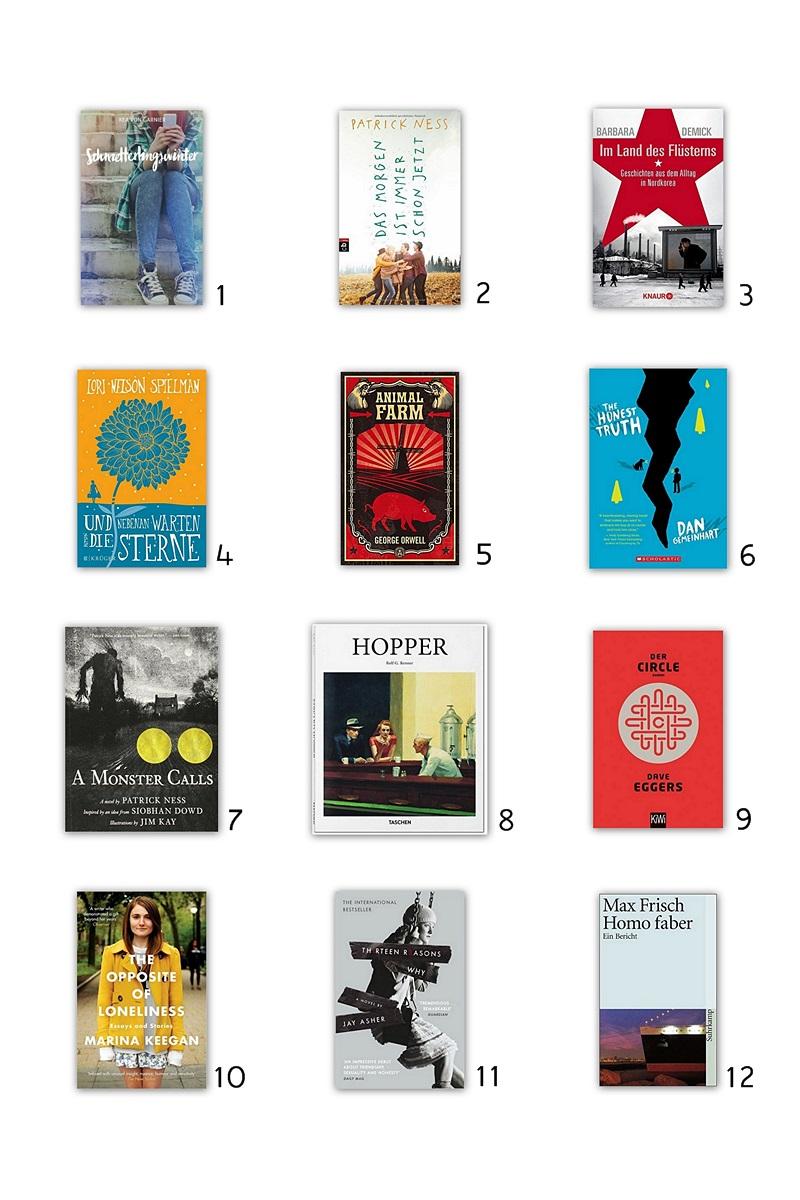 Buchempfehlungen für den Herbst