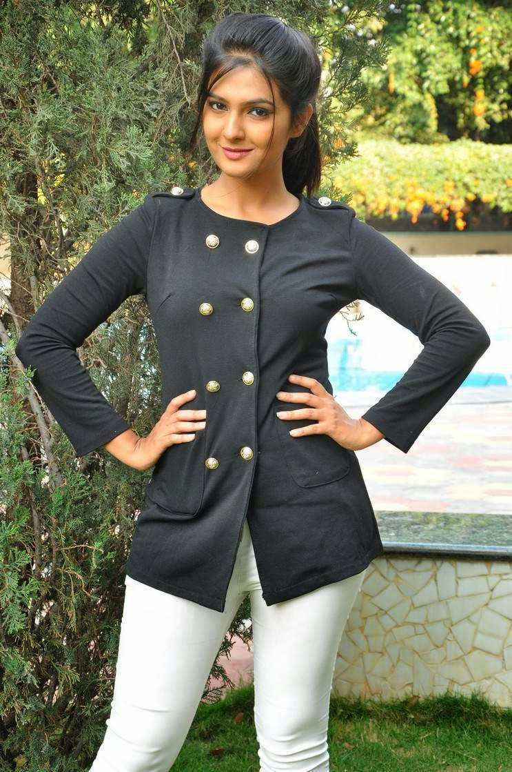 Actress Deshpande Latest Cute Hot Black Top Dress Beautiful Spicy Photoshoot Gallery At The Bells Movie Shooting
