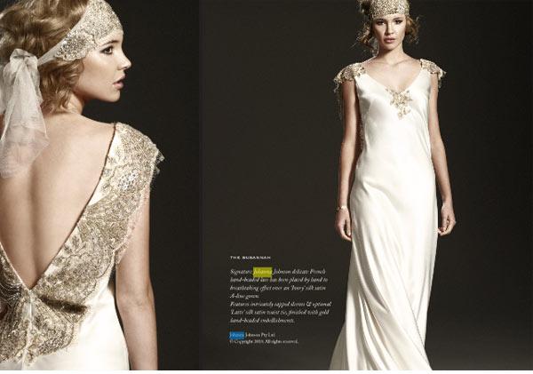 Art Deco Wedding Gowns: A.Lozano Couture: Art Deco Opulence