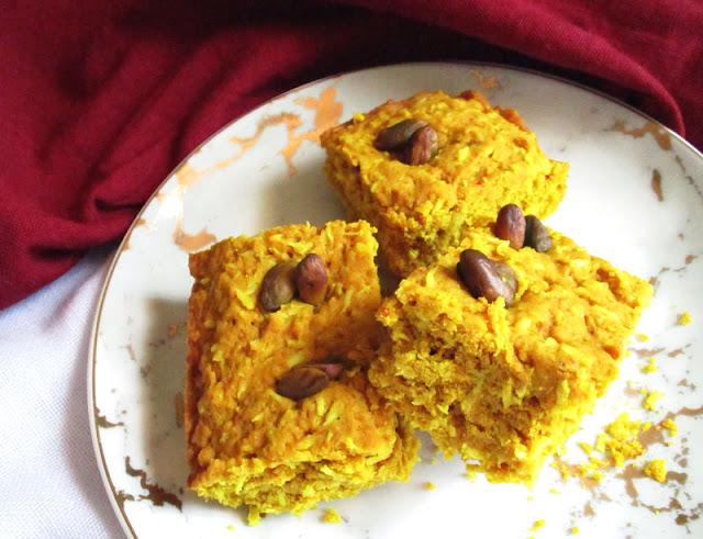 Quick and Easy Vegan Coconut Turmeric Spelt Cake