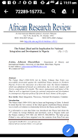 Fulani Jihad Article by Africa Reasearch Review