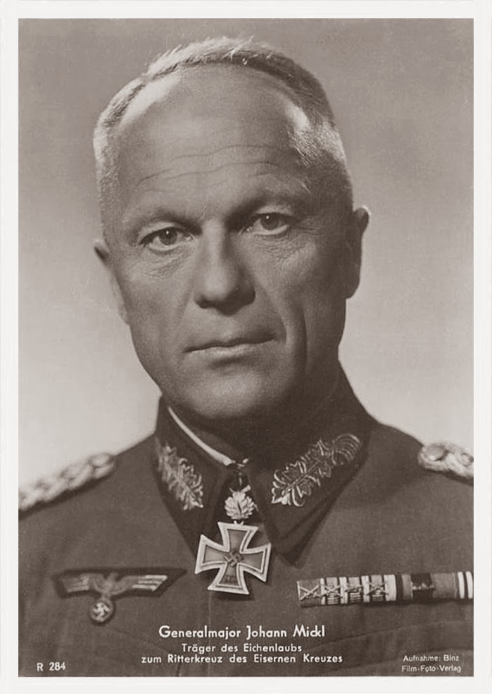 Johann Mickl Ritterkreuzträger Knight Cross Holder Postcard