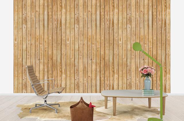 Puutapetti Wood Lautaseinä Puukuvioinen Tapetti