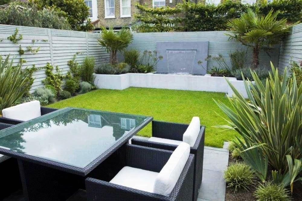 Model Taman Rumah Mewah Cantik Elegan