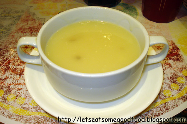 Mushroom+Soup - Visiting Peri Peri Charcoal Chicken Restaurant